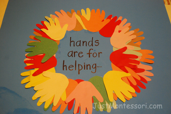 Helping Hands Poster