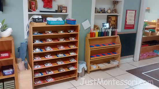 Letter Sounds and Metal Inset Shelves