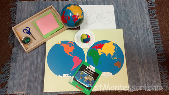 Hemisphere Map – From the Archives