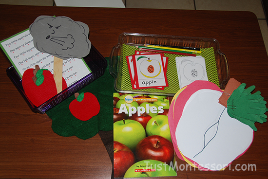 Apples ideas include: Art, poem, and parts of an apple booklet.