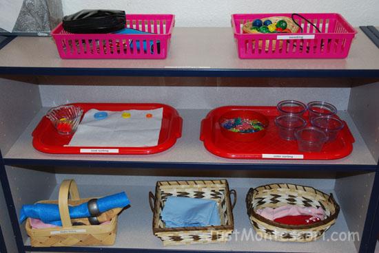 Practical Life Shelf