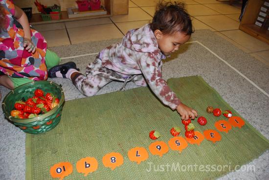 Pumpkins 1-10 Counting
