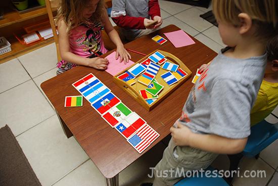 Flag Puzzles
