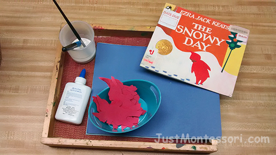 The Snowy Day Painting