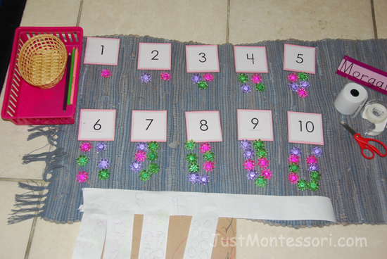1-10 Flower Counting