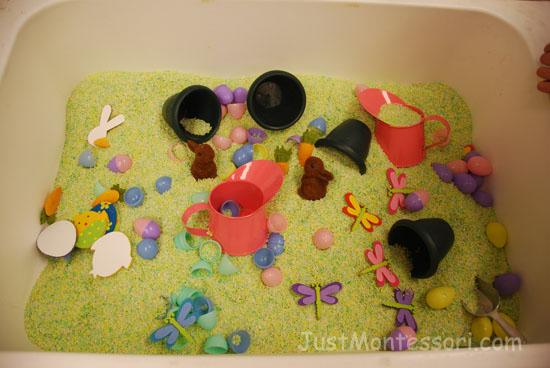 Spring Sensory Tub/Table