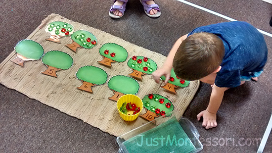 Apples 1-10 Counting