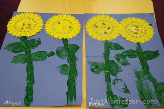 Sunflower Art Samples