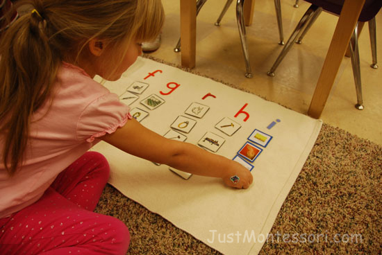 Initial Sound Box Picture Sorting