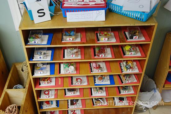Letter Sound Shelf